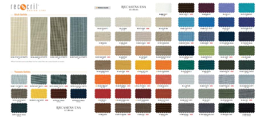RECacril Awning & Marine Fabrics