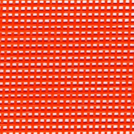 Red heavy duty vinyl coated mesh tarp